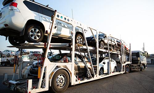0商品車輸送